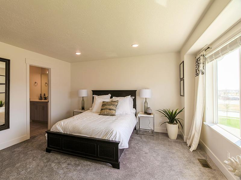 Bedroom | Smithfield Station Townhomes