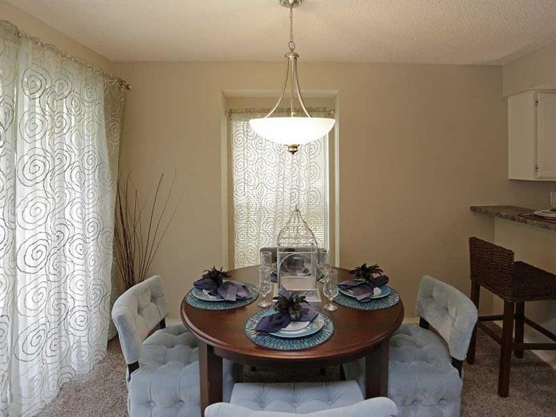 Dining Room - Three Fountains Missouri