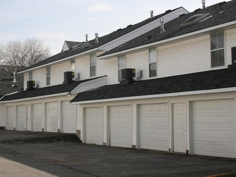 Garages | Pinegate Apartments