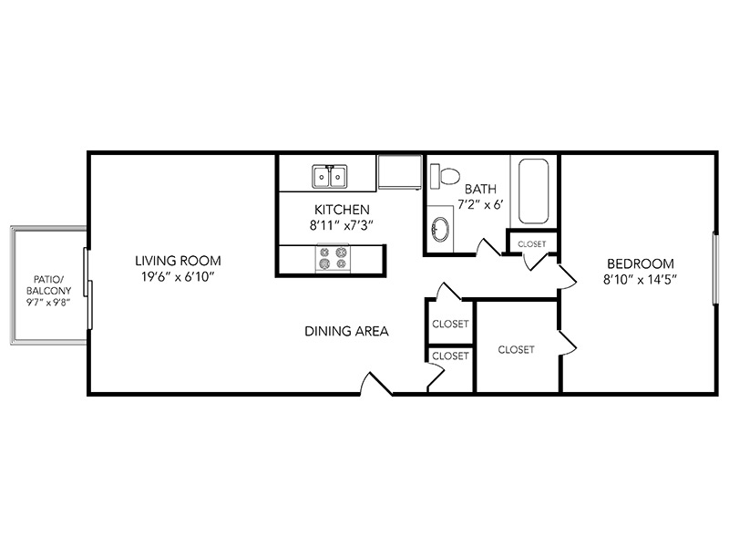 Country Club on 6th Apartments Floor Plan Fairway