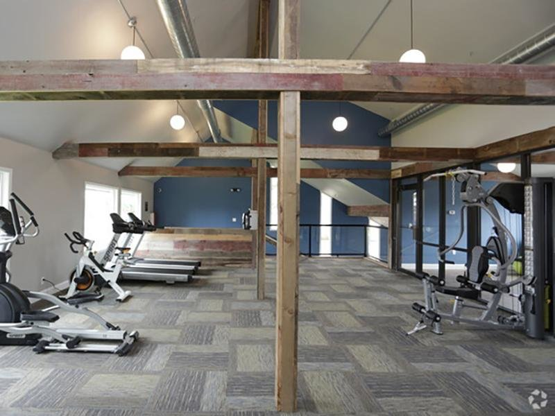 Gym | Country Club on 6th Apartments