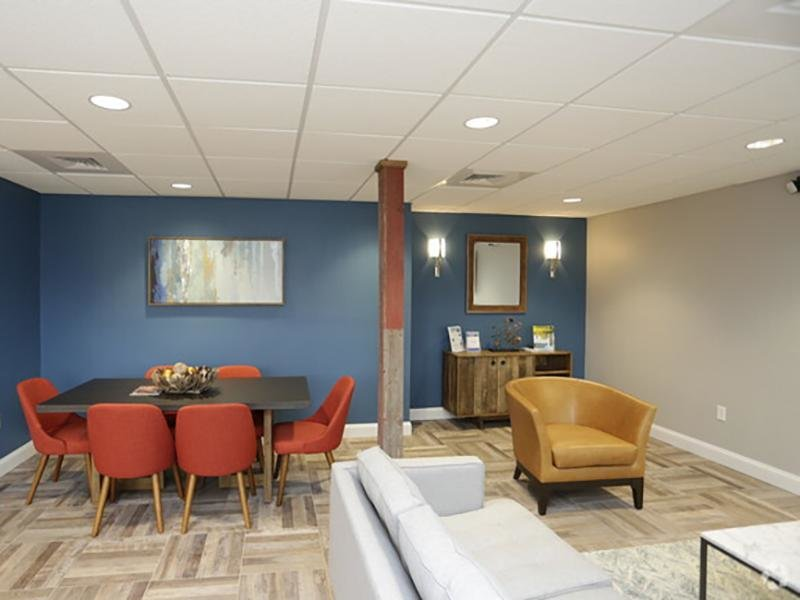 Lobby | Country Club on 6th Apartments
