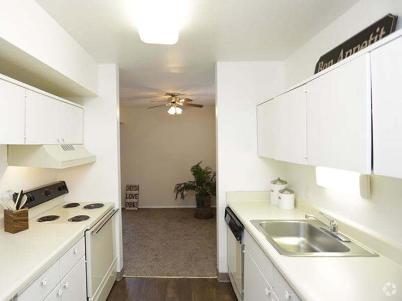 Kitchen   Country Club on 6th Apartments