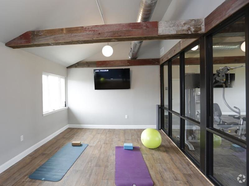 Yoga Room | Country Club on 6th Apartments