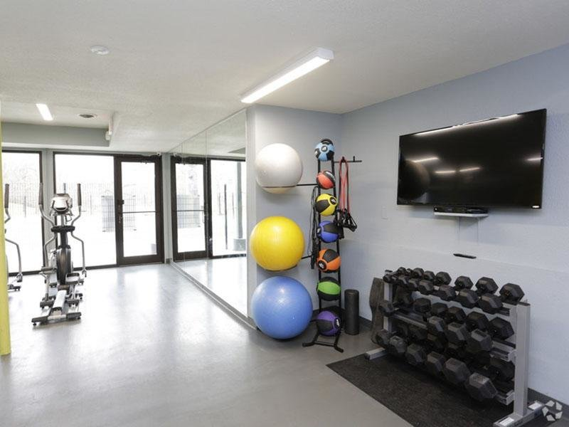 Fitness Center - Free Weights - Gym - Health