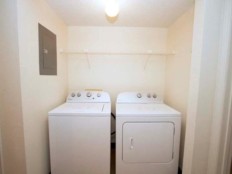 Washer and Dryer - Apartments with Washer & Dryer