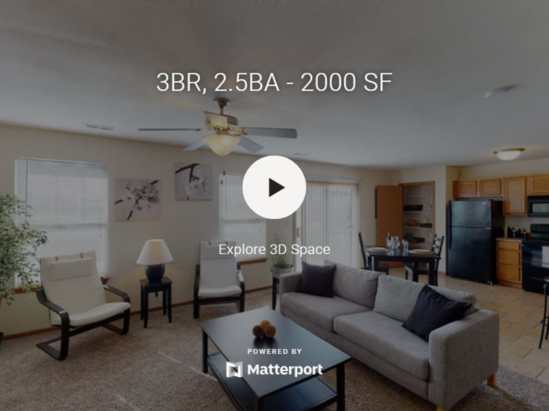3D Virtual Tour of The Falls of Columbia Apartments
