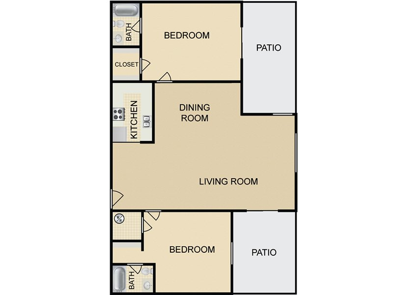 View floor plan image of B4 apartment available now