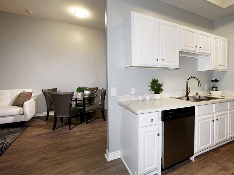 Kitchen & Dining Area | Hollywood View Towers