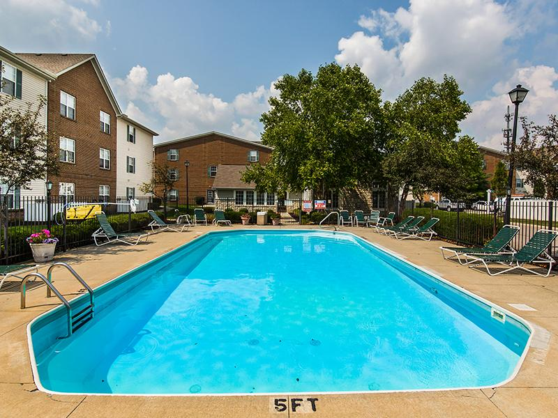 Apartments with a Pool | Enclave at Albany Park