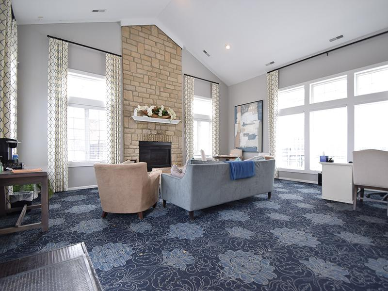 Clubhouse Living Room | Enclave at Albany Park