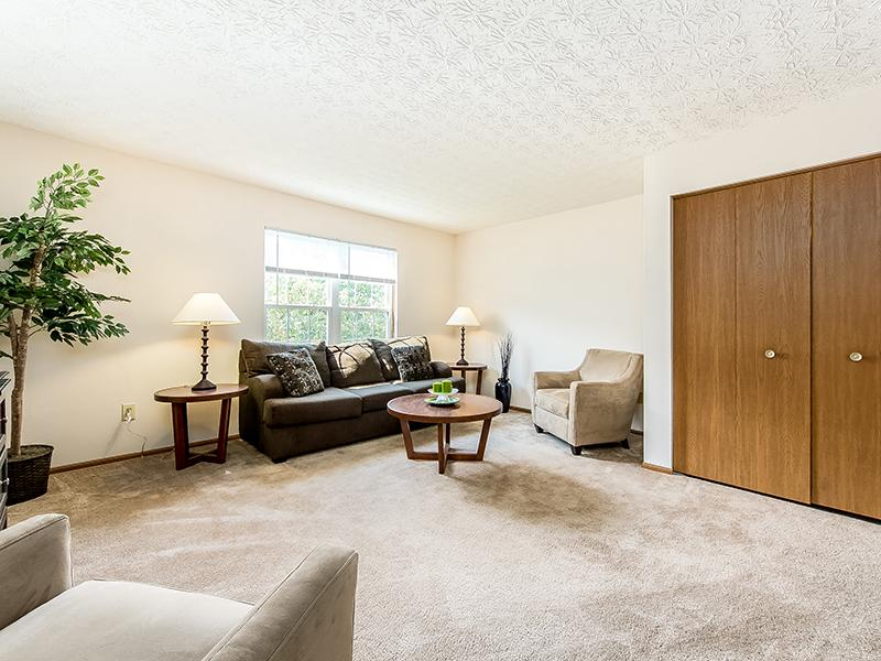 Living Room | Enclave at Albany Park