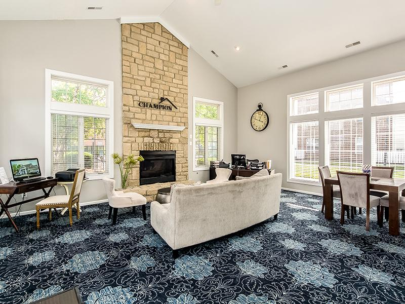 Club House Interior | Enclave at Albany Park
