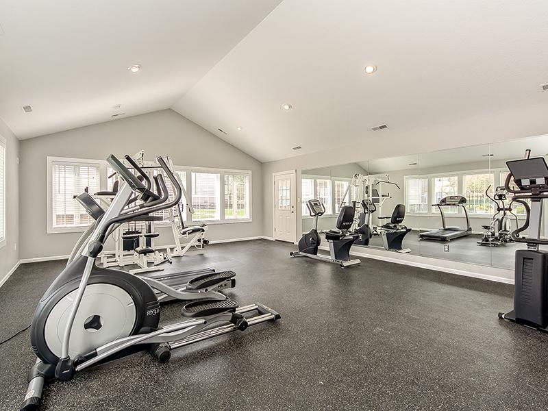 Fitness Center | Enclave at Albany Park