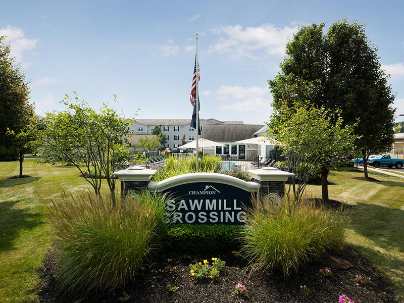Welcome Sign | Sawmill Crossing