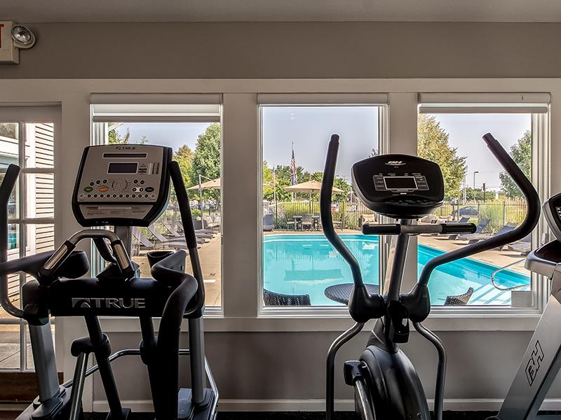 Fitness Center View | Sawmill Crossing