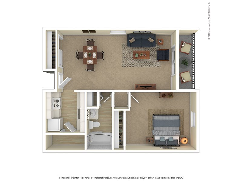 View floor plan image of Garden 1 Bedroom 1 Bathroom apartment available now