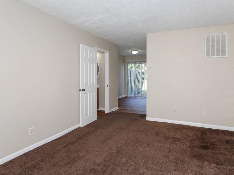 Living Room | 1100 Apartments