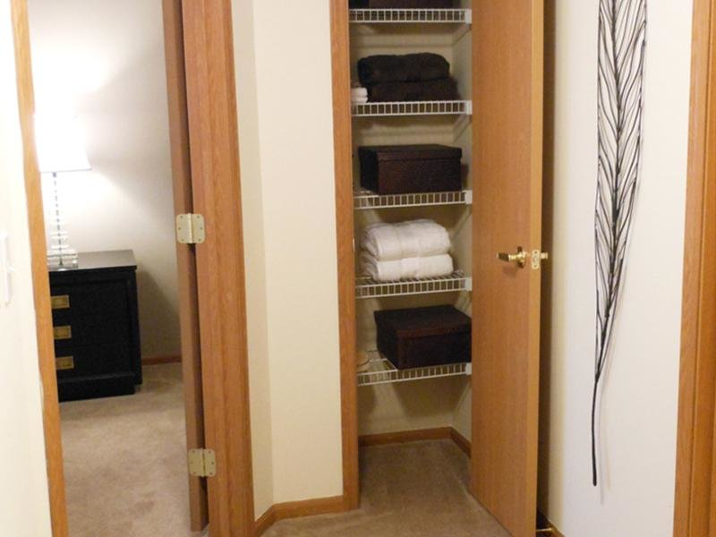 Linen Closet | The Residences at Sawmill Park