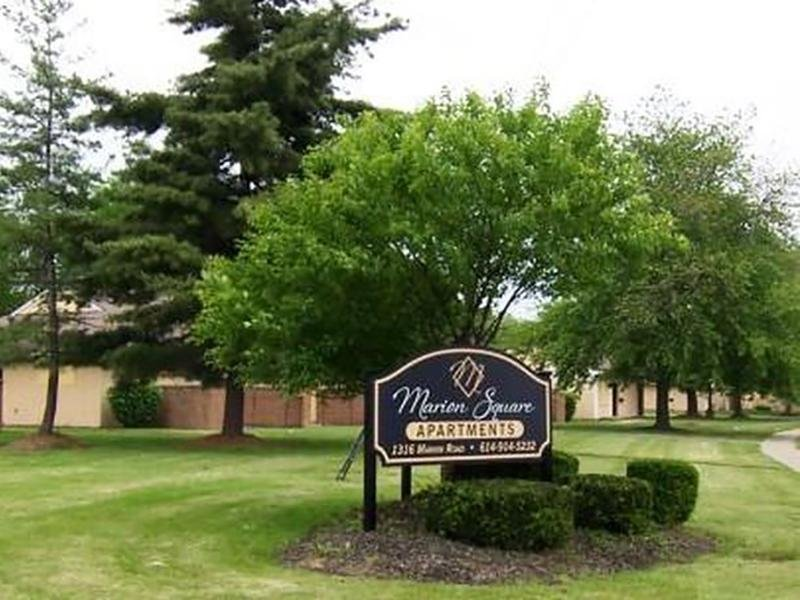 Welcome Sign | Marion Square Apartments