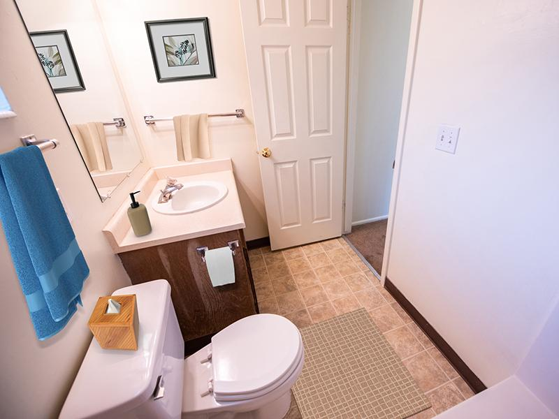 Bathroom | Mountain Ridge Manor