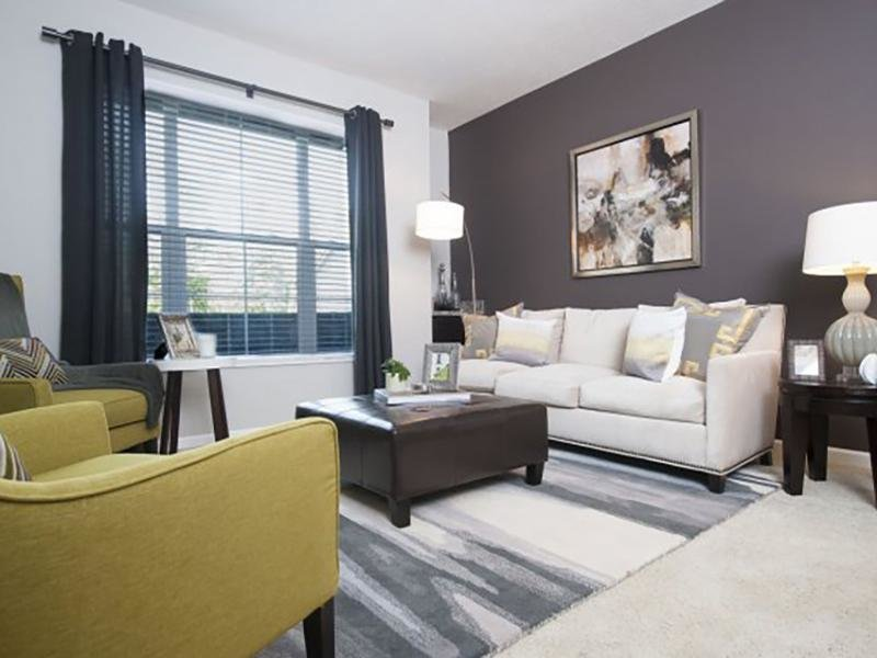 Living Room | Wesbury Park Apartments