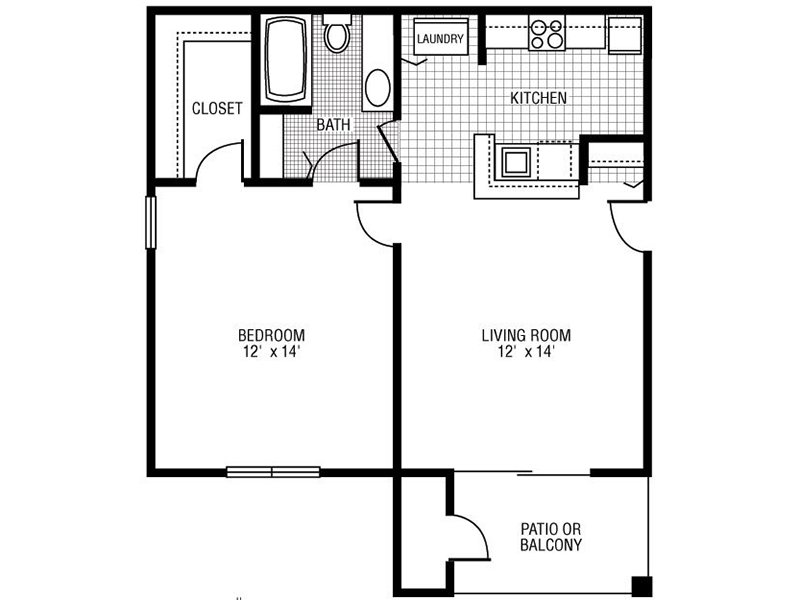 A-2 apartment available today at Camden at Bloomingdale in Bloomingdale