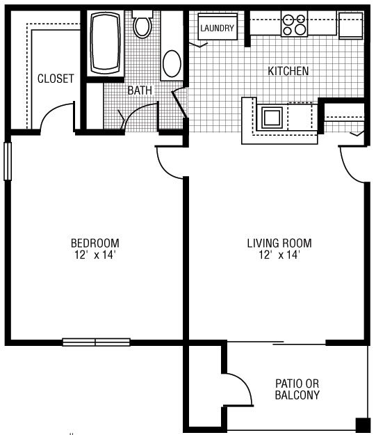Floor Plans for Camden at Bloomingdale Apartments in ...