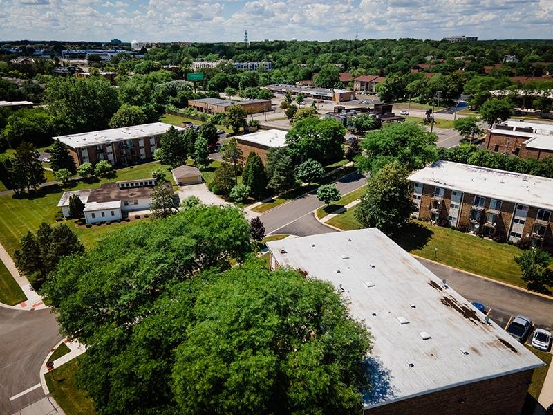 Aerial View | Wellington Creek Apartments