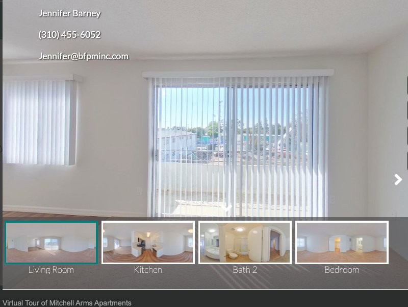Virtual Tour of Mitchell Arms Apartments