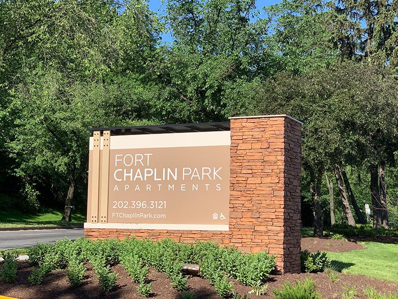 Welcome Sign | Fort Chaplin Park