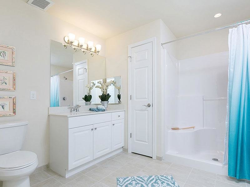 Bathroom - The Colony at Chews Landing Apartments