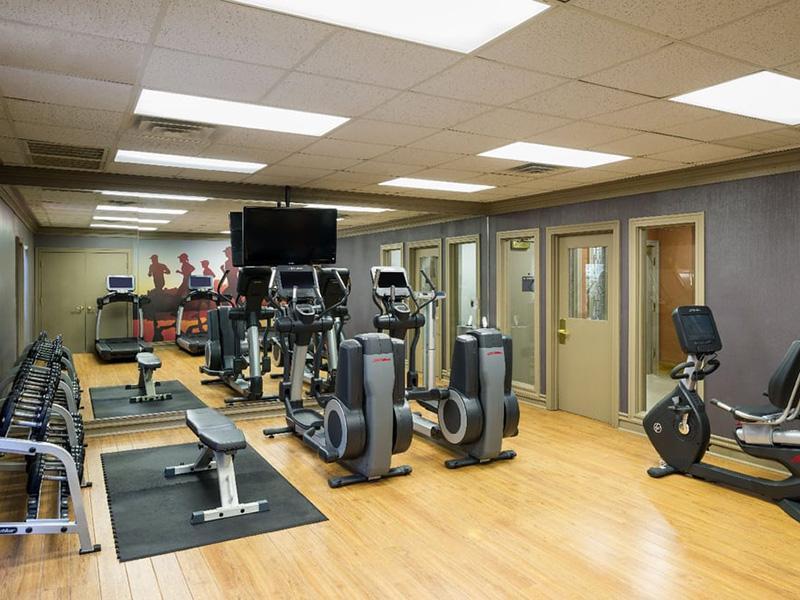 Fitness Center | Hillside Senior Living Community