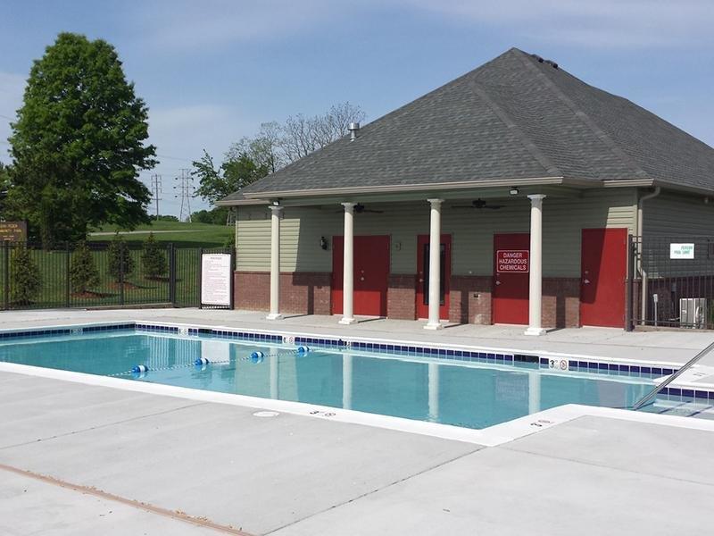 Pool | Academy Park Apartments