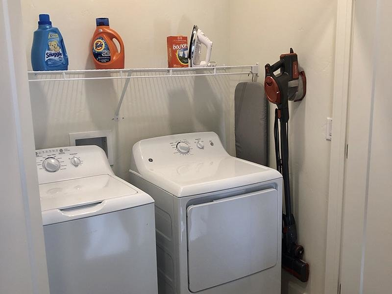 Washer & Dryer | Aero Townhomes