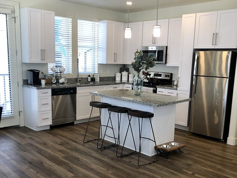 Fully Equipped Kitchen | Aero Townhomes