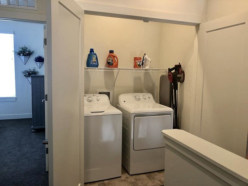 Laundry Room | Aero Townhomes