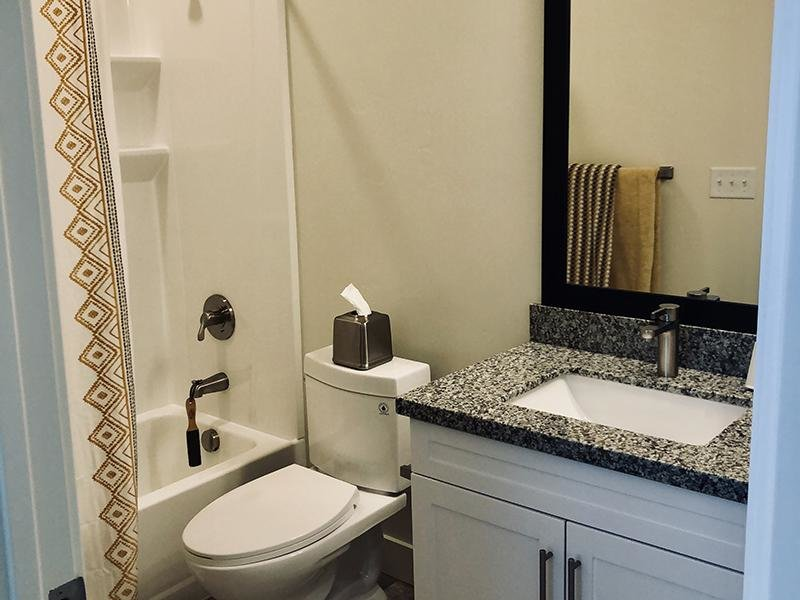 Bathroom | Aero Townhomes