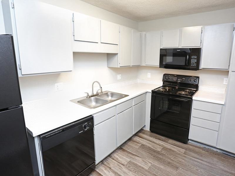 Kitchen | Ashby Apartments