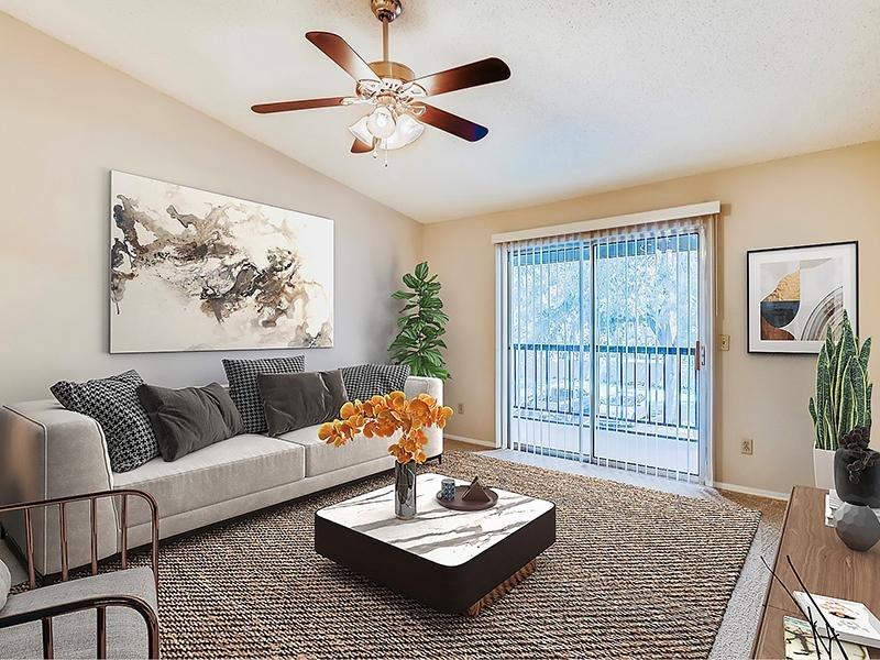 Furnished Living Room   Bocage Apartments in Orlando, FL