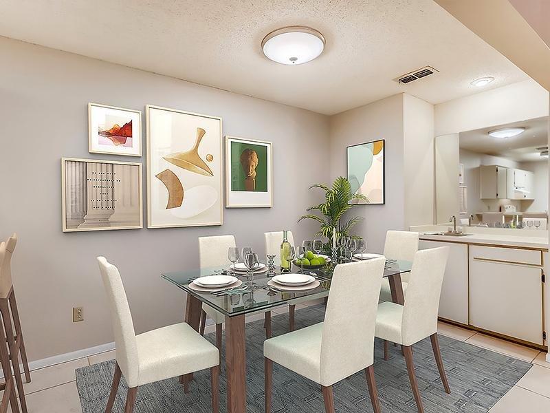 Dining Area   Bocage Apartments in Orlando, FL
