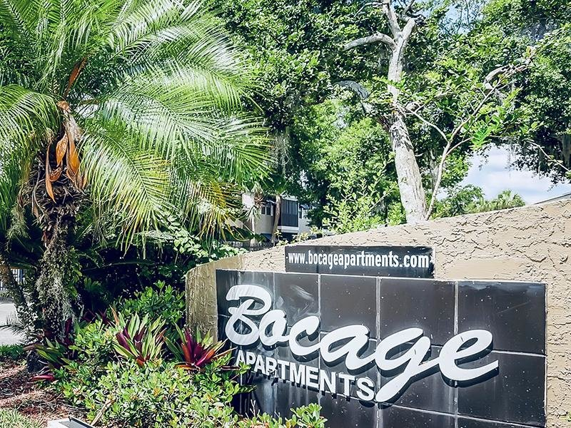 Welcome Sign   Bocage Apartments in Orlando, FL