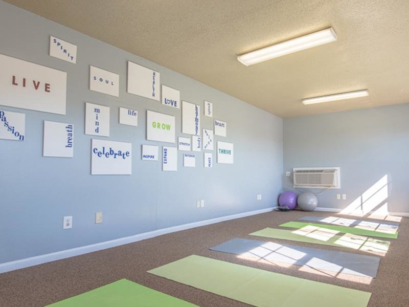 Yoga Room | Bridgewater on the Lake