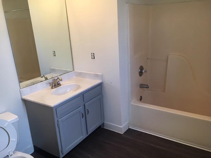 Bathroom | Carrington Place Apartments