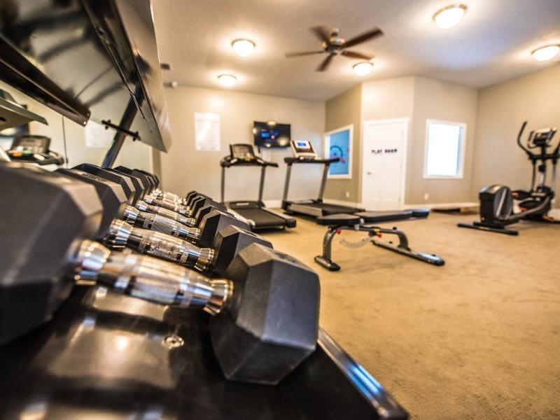 Gym | Greyhawk Townhomes
