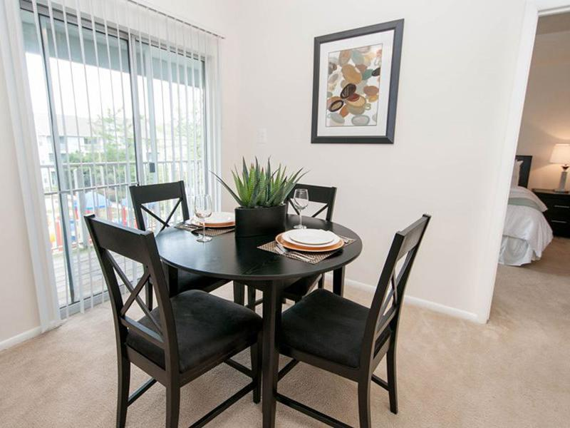 Dining Room | Chase Heritage Apartments