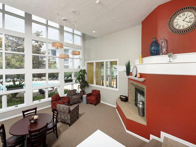 Club House Interior | Chase Heritage Apartments