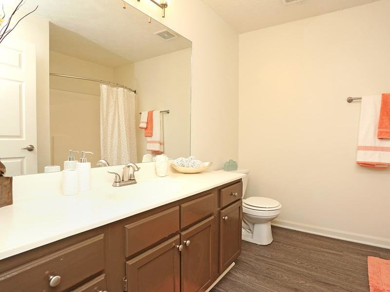 Bathroom | Lakeview Apartments