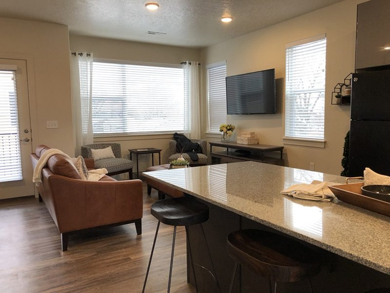 Spacious Interiors | Majestic Townhomes
