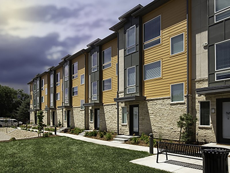 Exterior | Majestic Townhomes